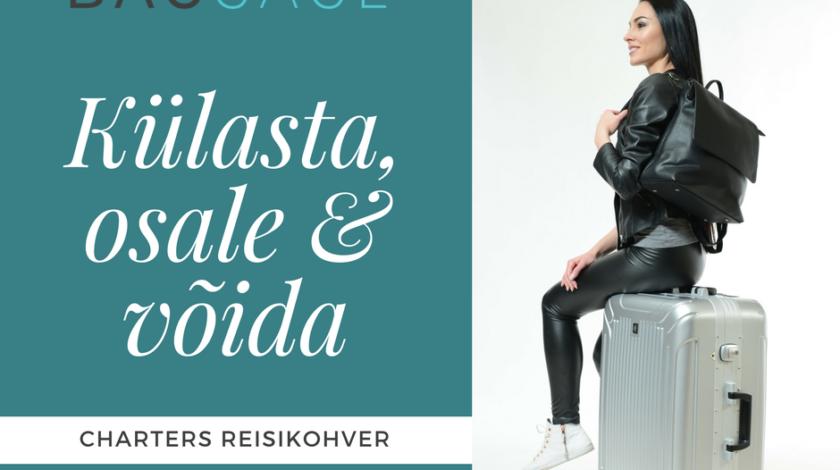 Pärnu Kaubamajaka BAGGAGE kaupluse reisikohvri võitja
